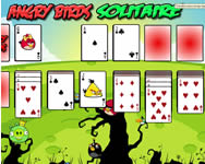 Angry Birds solitaire Angry Birds játékok